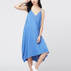 Rachel Roy Draped V-Neck Dress